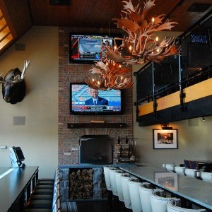 Champs Sports Grill Back Bar