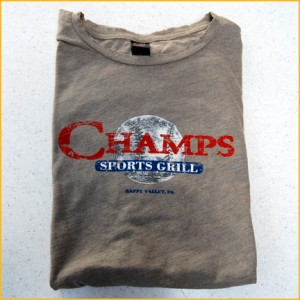 Distressed Champs T-shirt